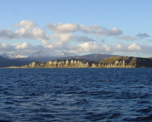 Isla Gable Puerto Williams