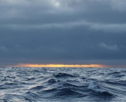 Sun rise in Patagonia