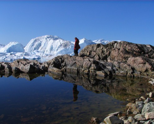 Coastal walk in Greenland