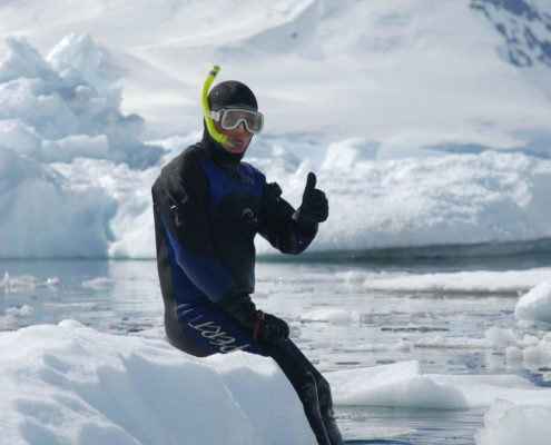Diving Antarctica
