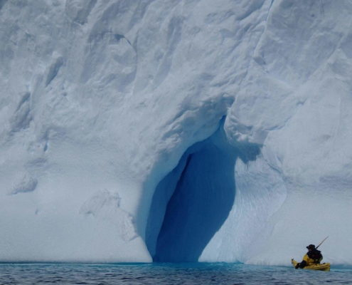 Kayaking in Antarcica