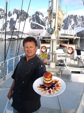 Amazing desert in Antarctica on yacht Australis by Chief Jamie