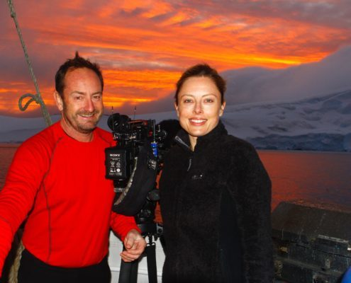 Andy Taylor and Allison Langdon 60 minutes antarctica