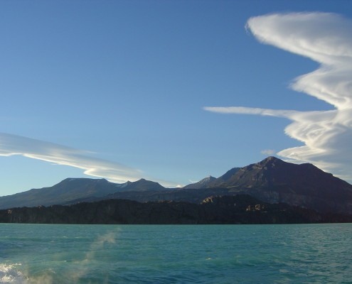 Chilean Channels Patagonian cloud formation