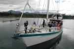 Australis, support vessel, yacht, BSAE 2012, Antarctica