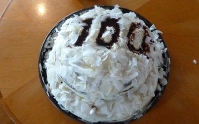 Celebrating 100 trips