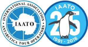 IAATO logo 25 year