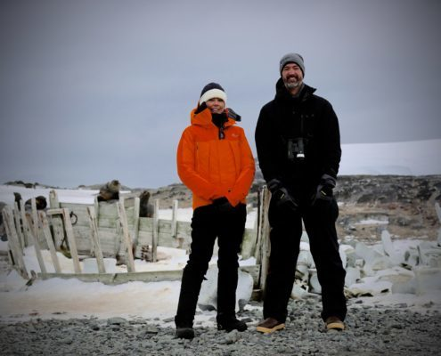 Ally Langdon and Doug Krause antarctica 60 minutes