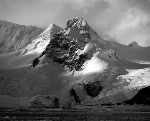 Antarctica's landscape