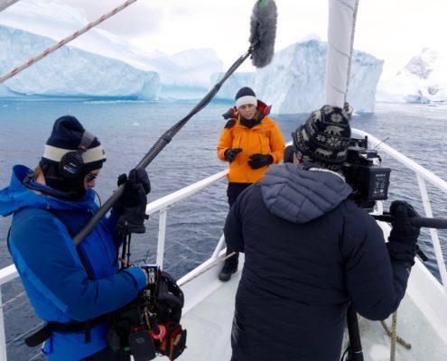 Allison Langdon antarctica 60 minutes