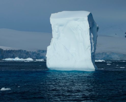 Antarctica iceberg sculpture