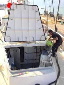 Cargo hatch