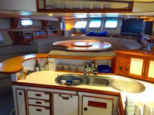 Galley inside