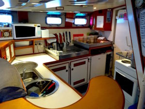 Galley outside