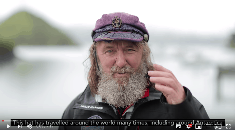 Solo adventurer sets world record rowing across the Southern Ocean